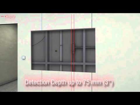 Kapro 389 Laser Stud Finder - Electronic Live Wire, Metal & Stud Sensor