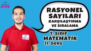 Rasyonel Sayıları Karşılaştırma ve Sıralama | 7. Sınıf Matematik Konu Anlatımı #7mtmtk