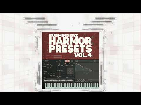HARMOR PRESETS VOL4 BY SUBMINDERZ