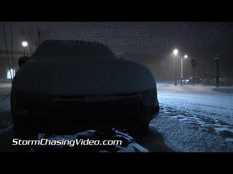 1/8/2015 Grand Rapids, MI Heavy Night Snow