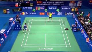 Video Bán kết giải cầu lông Vô Địch Thế Giới 2013  Lee Chong Wei vs Du Pengyu