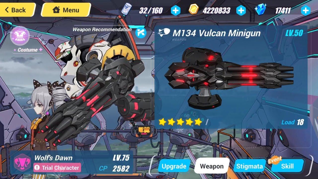 Honkai Impact 3 (NEW WEAPON) New Vulcan for Bronya ?