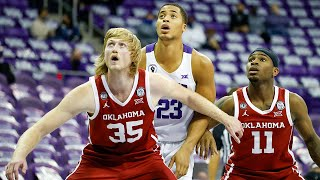 Austin reaves scored 32 points with six rebounds and a career-high nine assists oklahoma beat tcu 82-78 on sunday in the first big 12 game of season....