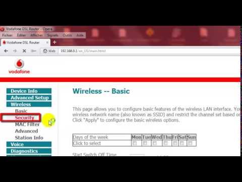Comment Changer le mot de pass sur le routeur Vodafone Huawei HG556a