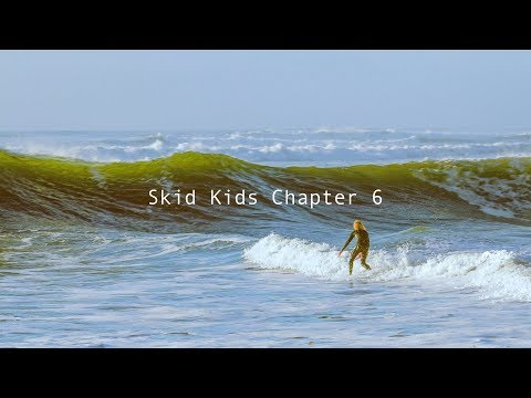 Skimboarding Rare Waves In San Francisco And Santa Cruz. Skid Kids Ch.6