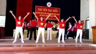 Hát múa Sức mạnh nhân đạo tập thể nam nữ clb quan họ Thành tuyên Tỉnh Tuyên quang biểu diễn ngày 28