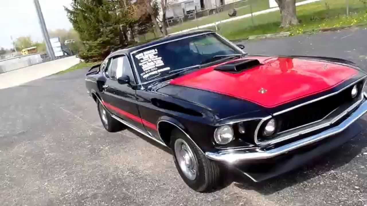 American muscle cars 1969 mustang mach 1 restored for sale for American muscle cars for sale