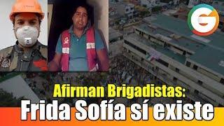 Frida Sofía sí existe, yo hablé con ella : Afirman Brigadistas #FridaSofia