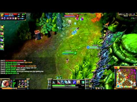 Getting Outta ELO Hell with Skylark 4G Ep.1 l Gameplay l League Of Legends