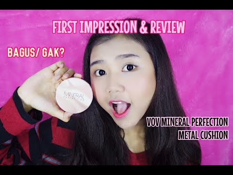 VOV Mineral Perfection Metal Cushion First Impression + Review ( BAHASA )