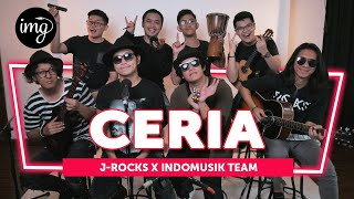CERIA - J-ROCKS Ft. INDOMUSIKTEAM #PETIK