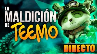 LA MALDICIÓN DE TEEMO | Minijuego en DIRECTO !! (League of Legends) #BronzaTeemo