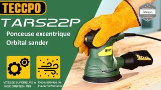 TEECPO Random Orbital Sander - Ponceuse excentrique Teccpo - Teccpo TARS22P - Power tools - Unboxing
