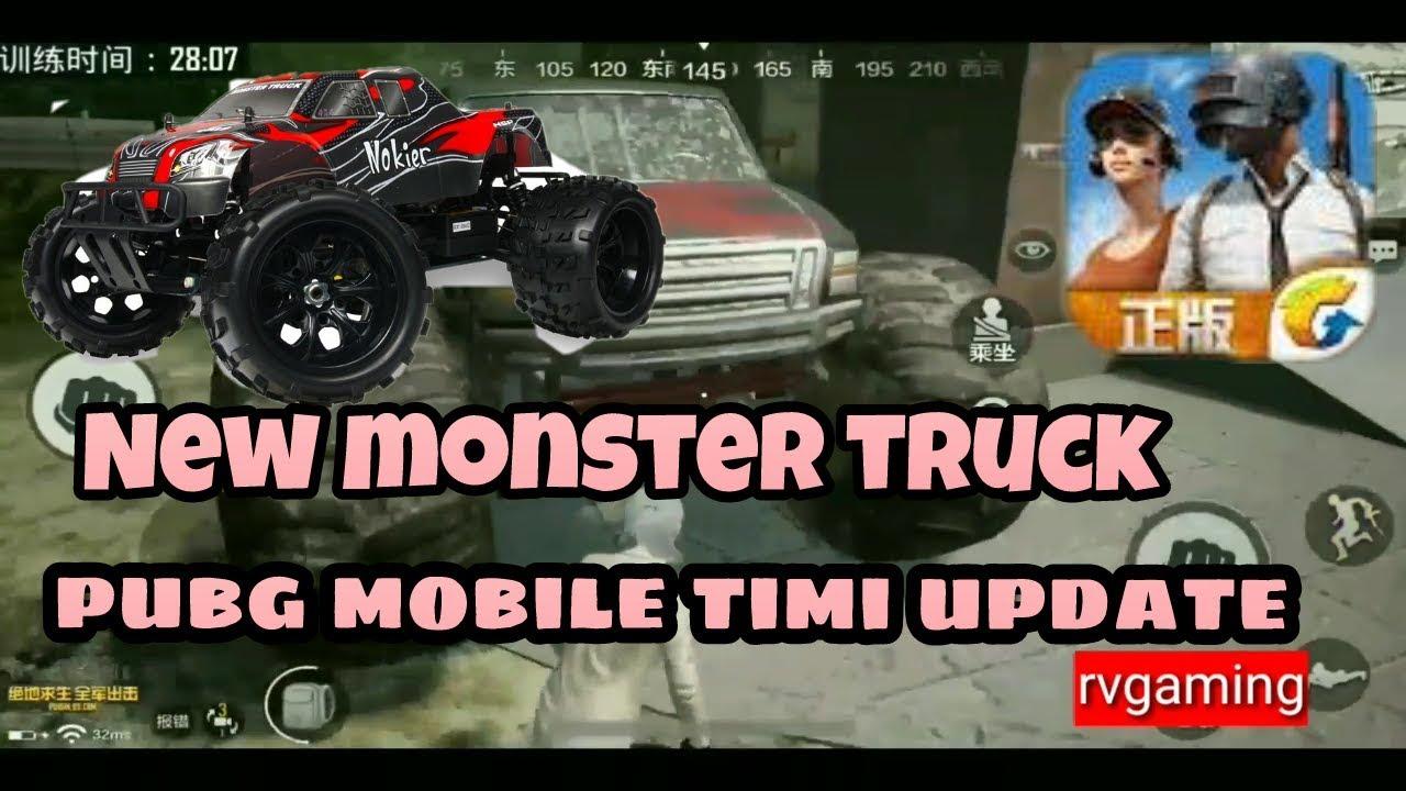 Pubg Mobile Timi Youtube: Pubg Mobile Timi Beta Update New Monster Truck RVGAMING