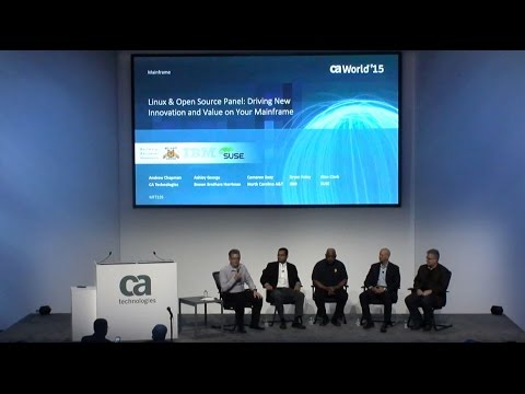 Linux & Open Source Panel: Driving New Innovation and Value on Your Mainframe