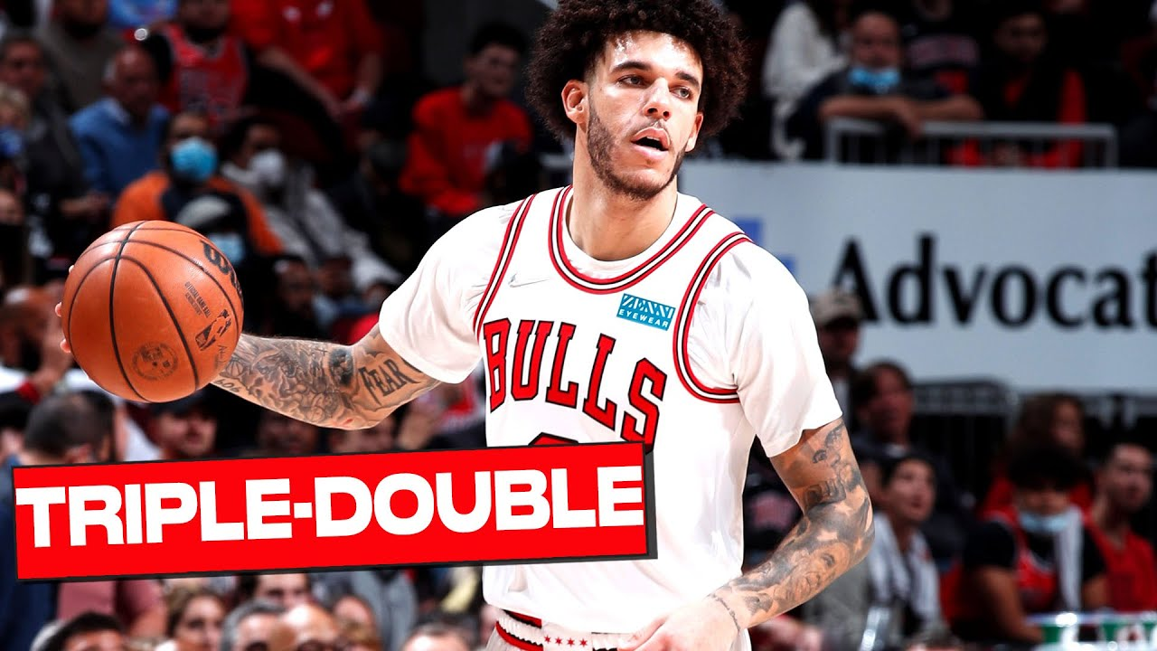 Download Lonzo Ball Posts First TRIPLE-DOUBLE as a Chicago Bull 🙌