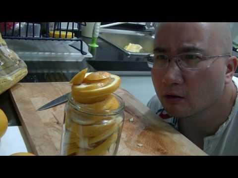ASMR: Lemon Ginger Honey Pandan, Making Throat Relaxant
