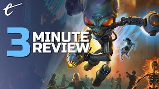 Destroy All Humans! | Review in 3 Minutes (Video Game Video Review)