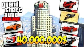 РЕАЛЬНАЯ ЖИЗНЬ В GTA 5 ONLINE - КУПИЛ КРУТОЙ ОФИС В MAZE BANK И КУПИЛ КРУТЫЕ ТАЧКИ ЗА 40.000.000$
