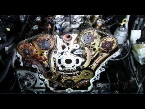 VE Commodore SV6 Timing Chain Replacement (Part 1)