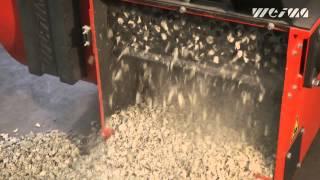 Шредер промышленный для измельчения бумаги, картона, пластмасс WEIMA WL 4(, 2013-11-20T17:21:22.000Z)