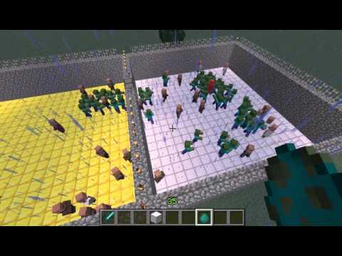 Minecraft Dorfbewohner VS Zombies YouTube - Minecraft dorfbewohner bauen hauser mod