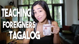 Teaching Foreigners to Speak Tagalog (Sablayan, Mindoro Philippines Vlog 72)