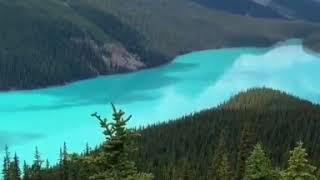 КАНАДА Озеро Луис Национальный Парк Банф