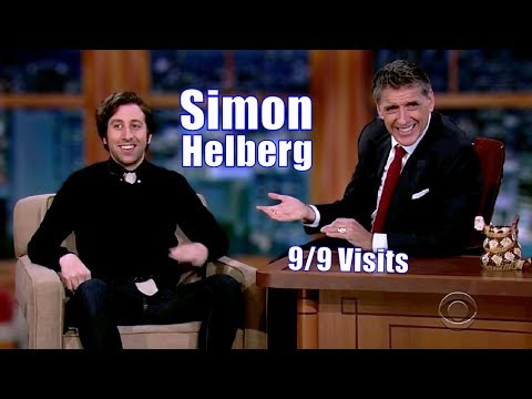 Simon Helberg - They Just Get...Along - 9/9 Appearancces In C. Order