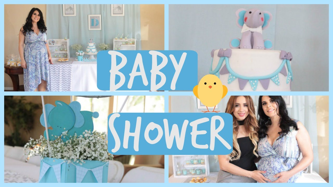 Baby Shower Es Nino Juegos Para Baby Shower Y Regalos Youtube