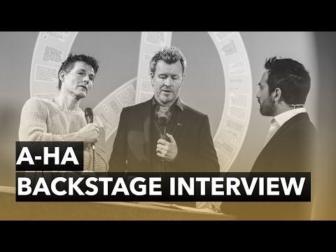 A-ha - Backstage Interview - The 2015 Nobel Peace Prize Concert