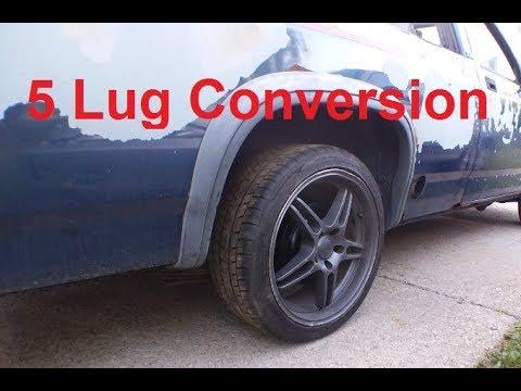 Dodge Dakota 40 Lug Conversion Pt 40 Rear End YouTube Impressive Dodge Dakota Bolt Pattern
