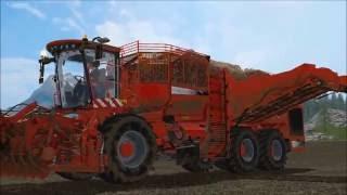 Farming Simulator 2017 (tip anything) sugar beets harvesting