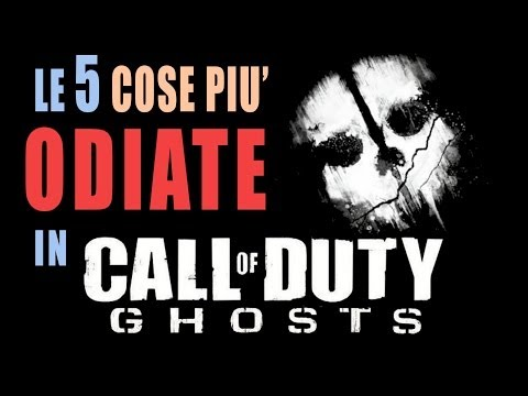 Le 5 cose più ODIATE in Call of duty: Ghosts