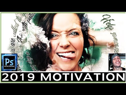 Design A Motivational Poster In Photoshop - Action Tutorial