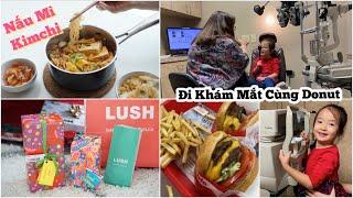 Cuối Tuần Nấu Mì Kimchi ♥ Tình Trạng Mắt Của DONUT ♥ Mở quà LUSH    mattalehang