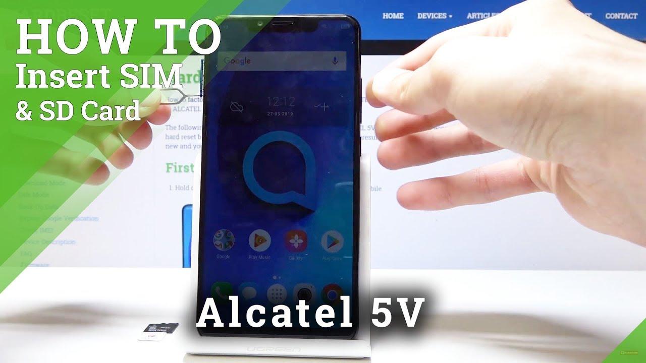 Alcatel 5V - Specification
