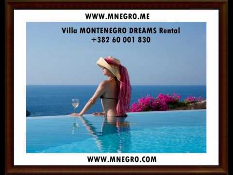 Adriatic Villa MONTENEGRO DREAMS Rental