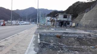 津波焼けた小学校