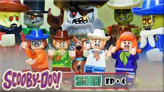 Scoob! Scooby Doo 2020 • Lego Zombie Attack at the Wild West • Lego Scooby Doo Stop Motion Ep 4