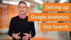 Setting up Google Analytics Site Search