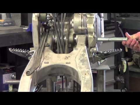 Dirt Bike - Swing Arm and Shock Removal - Do It Right!