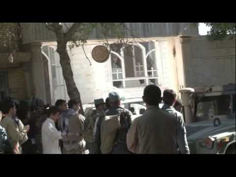 Raw: Indian Consulate in Afghanistan Attacked