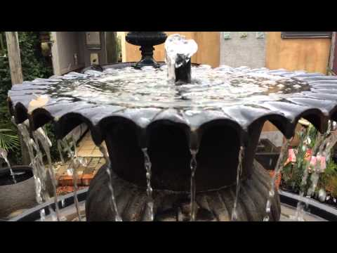 'Signature Fountain' Cast Iron Water Feature