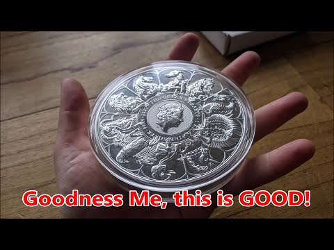 The Most Incredible Coin I have Ever Unboxed - The 1 Kilo Silver Completer Coin From The Royal Mint!