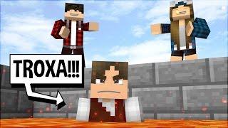 Minecraft: SENDO TROLLADO MIL VEZES PELOS INSCRITOS!