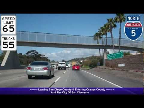I-5 North (CA), Orange County South & Central, Exit 72 - Exi