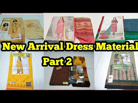 [VIDEO] - New trendy dress material collection part-2 #Aamaripatty# dress material#chudithar# outfits#cotton# 7