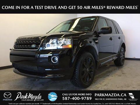 BLACK 2015 Land Rover LR2  Review Sherwood Park Alberta - Park Mazda