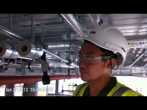 fan cool unit pipe set up
